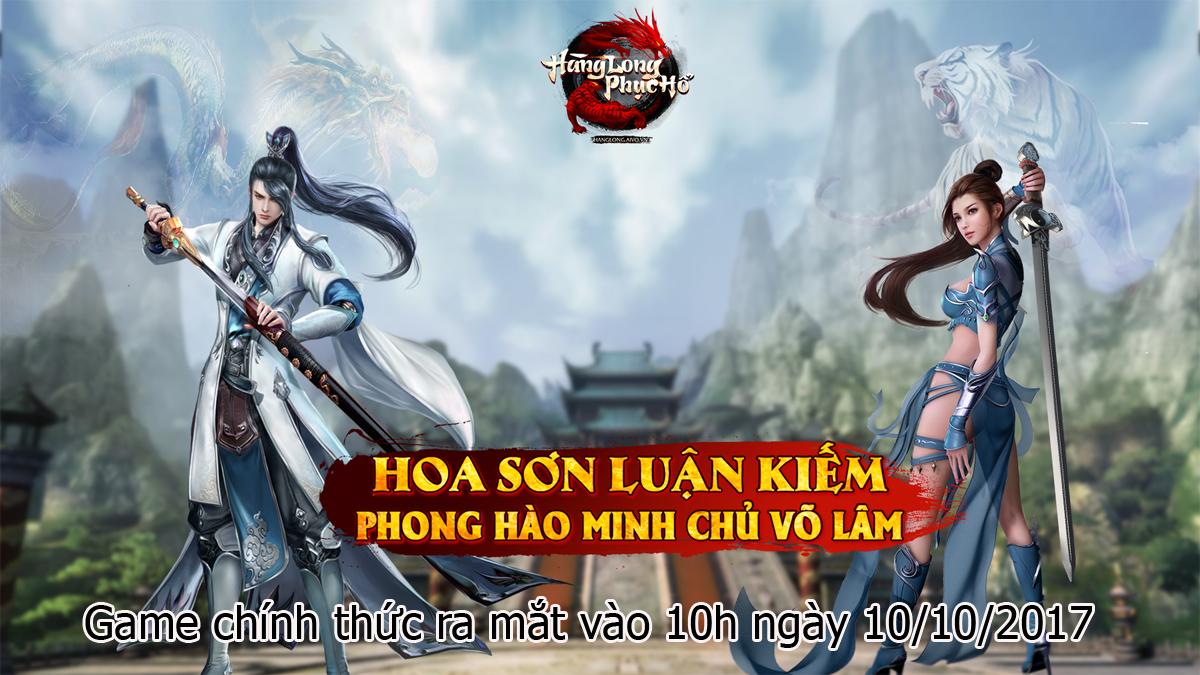 Trở thành Võ lâm minh chủ trong game Hàng Long Phục Hổ thông qua Hoa Sơn Luận Kiếm 4