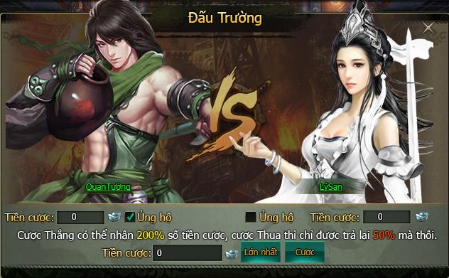 Trở thành Võ lâm minh chủ trong game Hàng Long Phục Hổ thông qua Hoa Sơn Luận Kiếm 3