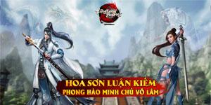 Trở thành Võ lâm minh chủ trong game Hàng Long Phục Hổ thông qua Hoa Sơn Luận Kiếm