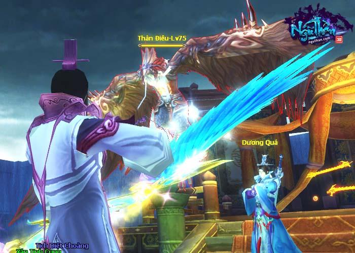 Điểm mặt những hoạt động kiếm hiệp trong game tiên hiệp Ngũ Thần Online 11