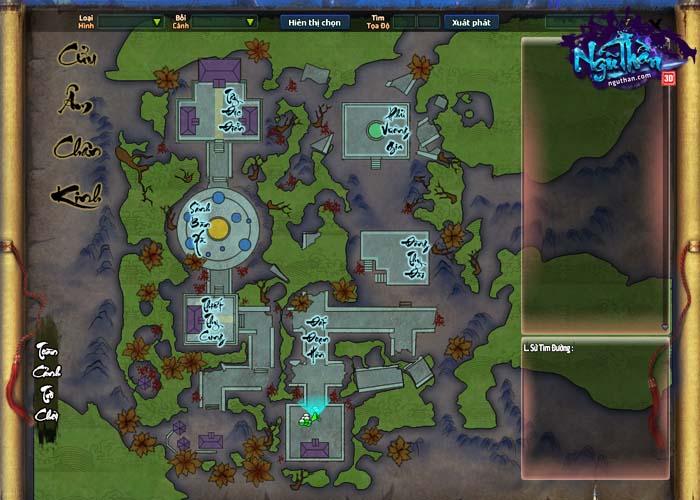 Điểm mặt những hoạt động kiếm hiệp trong game tiên hiệp Ngũ Thần Online 12