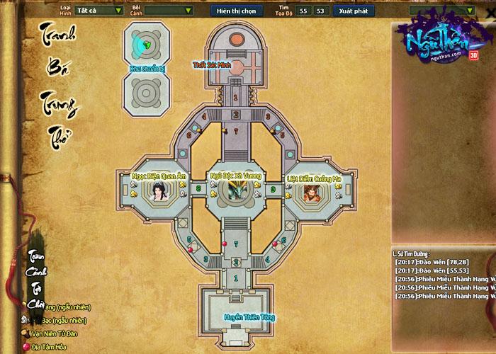 Điểm mặt những hoạt động kiếm hiệp trong game tiên hiệp Ngũ Thần Online 2
