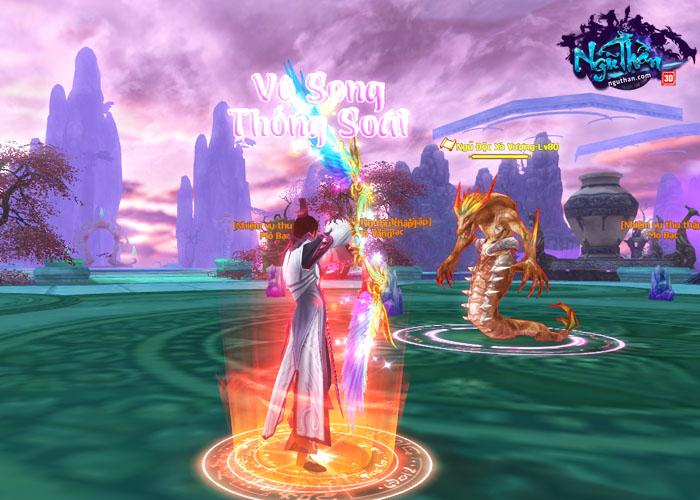 Điểm mặt những hoạt động kiếm hiệp trong game tiên hiệp Ngũ Thần Online 3