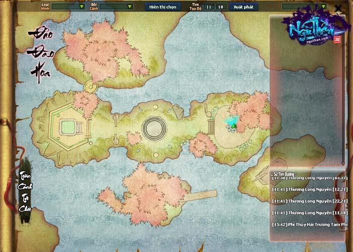 Điểm mặt những hoạt động kiếm hiệp trong game tiên hiệp Ngũ Thần Online 4