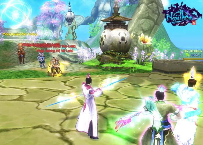 Điểm mặt những hoạt động kiếm hiệp trong game tiên hiệp Ngũ Thần Online 5
