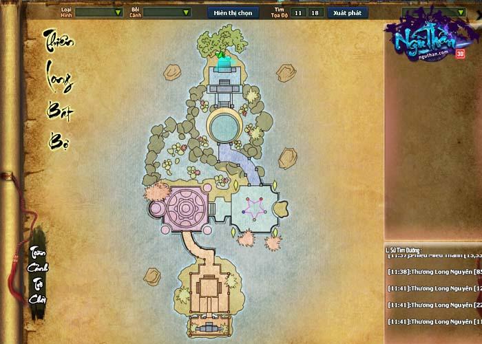 Điểm mặt những hoạt động kiếm hiệp trong game tiên hiệp Ngũ Thần Online 6