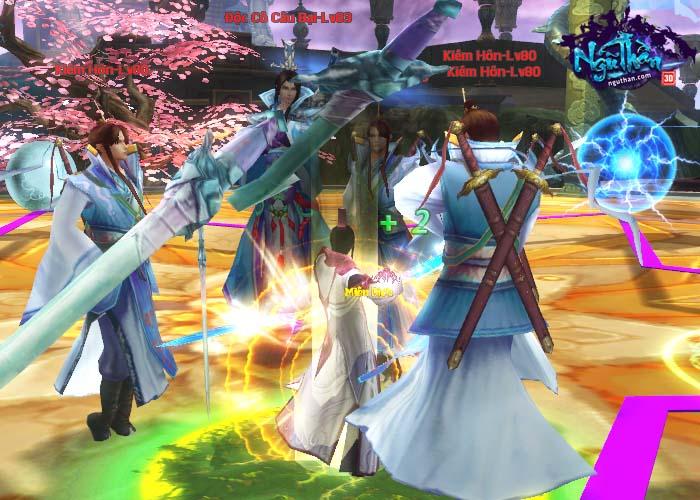 Điểm mặt những hoạt động kiếm hiệp trong game tiên hiệp Ngũ Thần Online 7