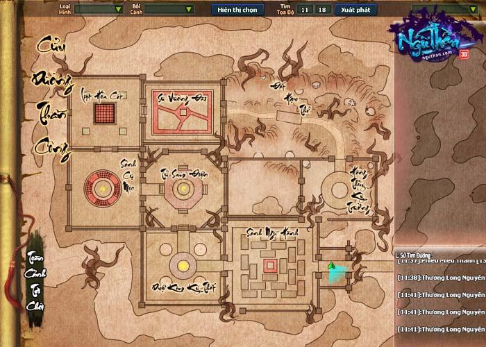 Điểm mặt những hoạt động kiếm hiệp trong game tiên hiệp Ngũ Thần Online 8
