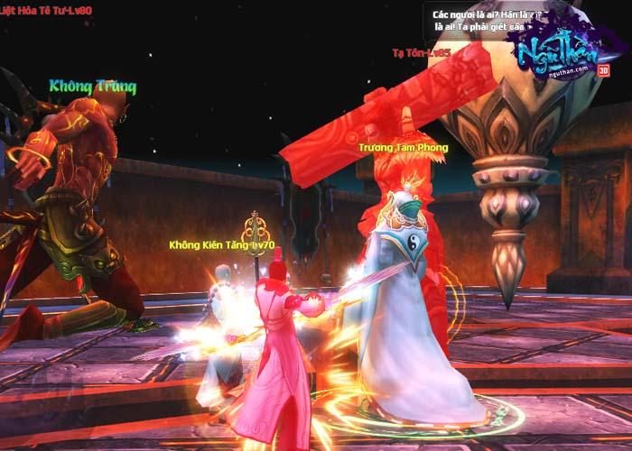 Điểm mặt những hoạt động kiếm hiệp trong game tiên hiệp Ngũ Thần Online 9