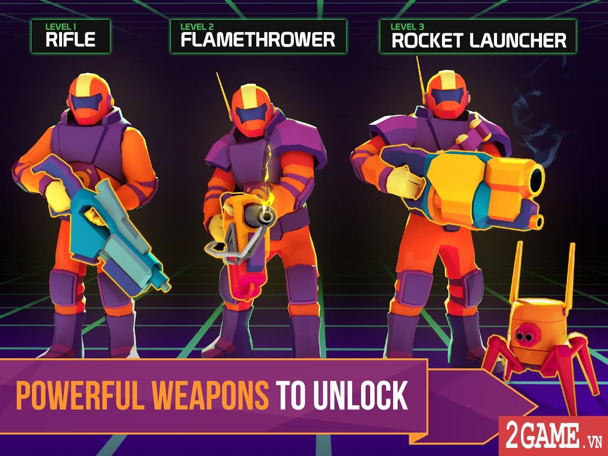 Space Pioneer - Game nhập vai bắn súng đưa người chơi đến khám phá các hành tinh lạ 1