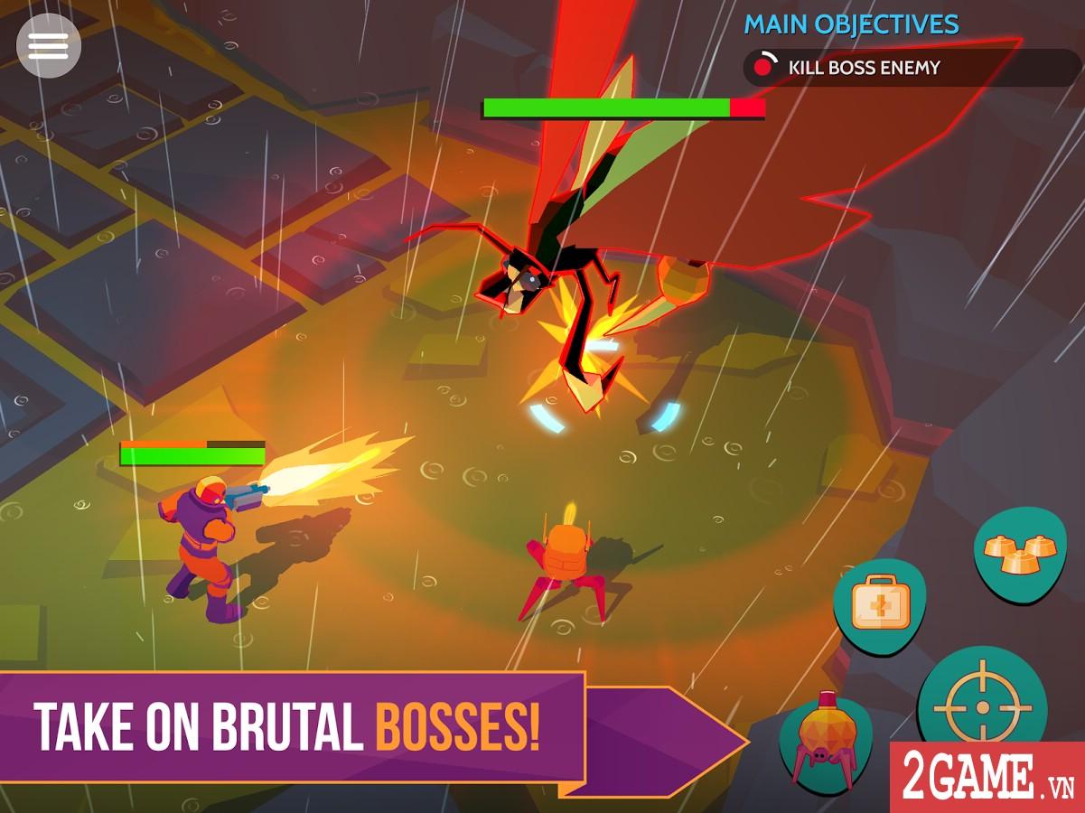 Space Pioneer - Game nhập vai bắn súng đưa người chơi đến khám phá các hành tinh lạ 2