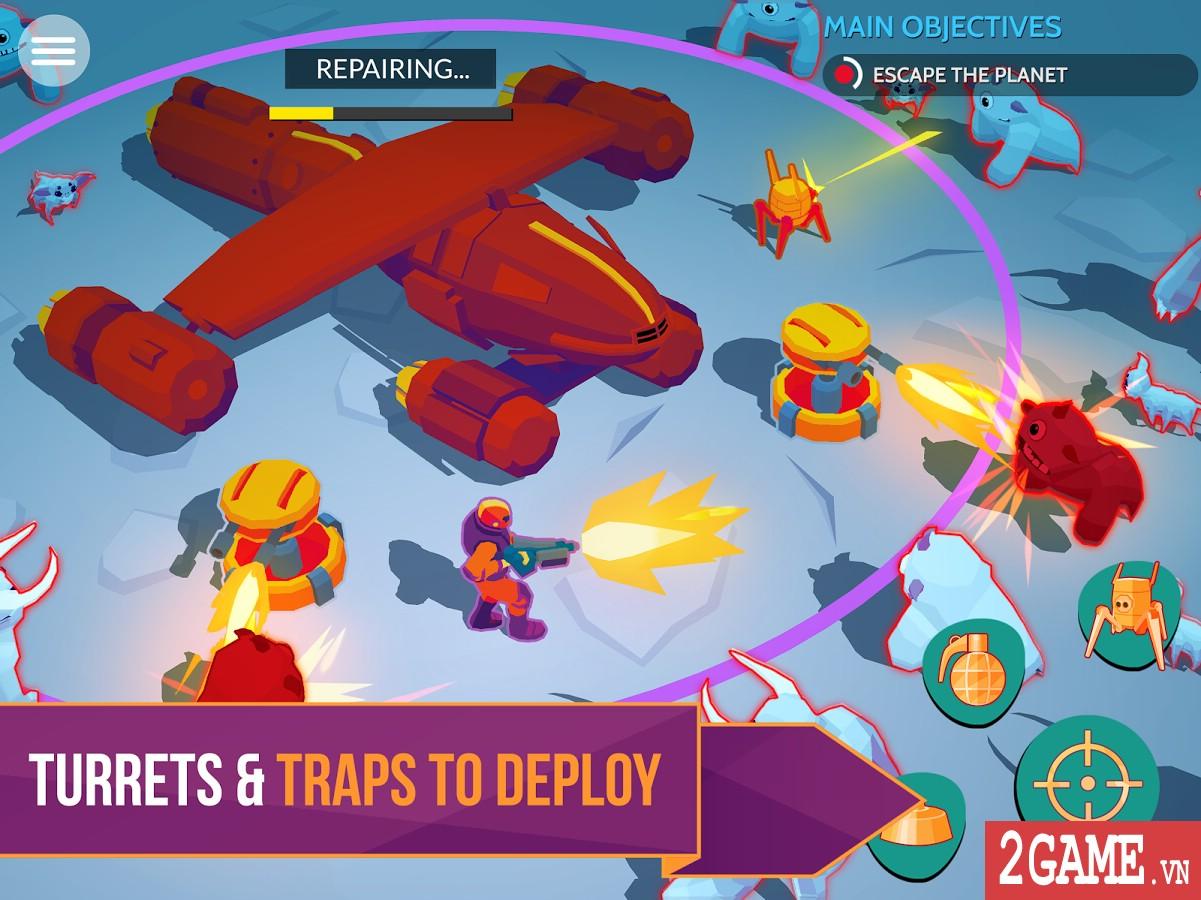 Space Pioneer - Game nhập vai bắn súng đưa người chơi đến khám phá các hành tinh lạ 3