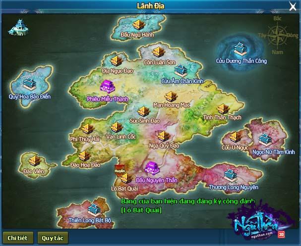 Điểm mặt 5 hoạt động chiến trường kinh điển trong Ngũ Thần Online 1