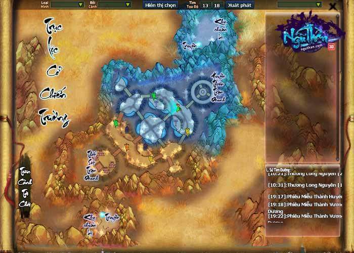 Điểm mặt 5 hoạt động chiến trường kinh điển trong Ngũ Thần Online 3
