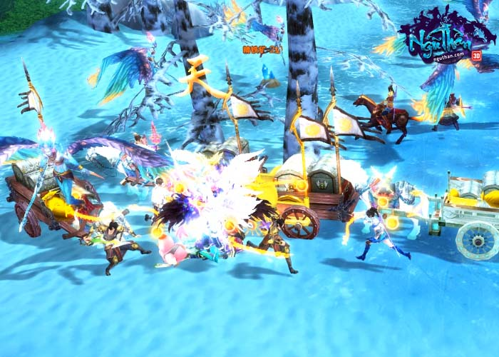 Điểm mặt 5 hoạt động chiến trường kinh điển trong Ngũ Thần Online 5