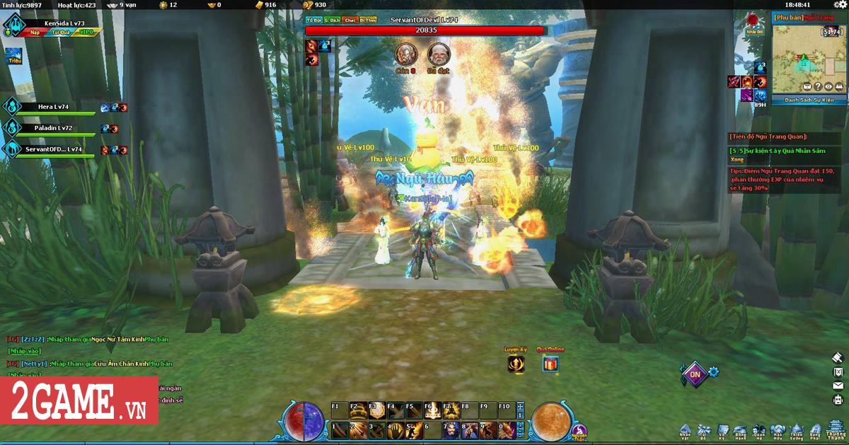 Điểm mặt 5 hoạt động chiến trường kinh điển trong Ngũ Thần Online 2