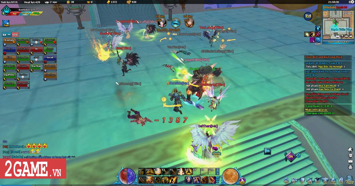 Điểm mặt 5 hoạt động chiến trường kinh điển trong Ngũ Thần Online 0