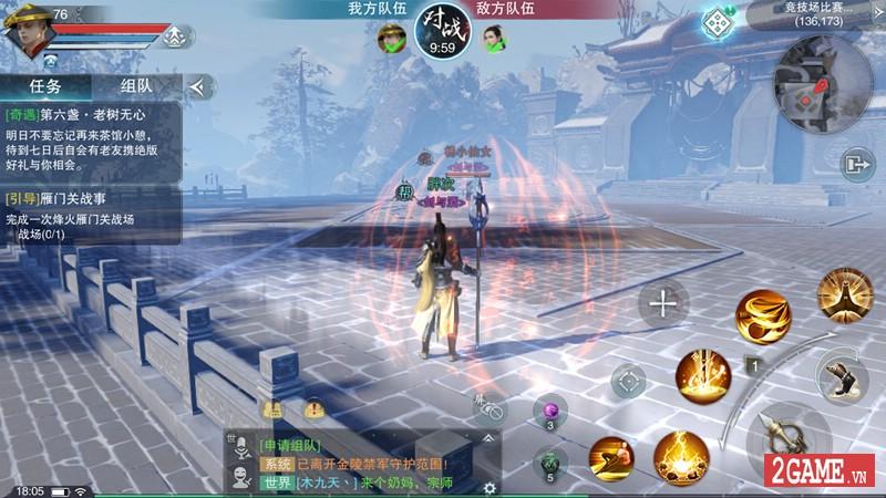 Trải nghiệm Sở Lưu Hương Mobile: Siêu phẩm game nhập vai cho phép người chơi sống thật nhất có thể 3