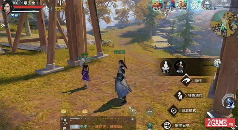 Trải nghiệm Sở Lưu Hương Mobile: Siêu phẩm game nhập vai cho phép người chơi sống thật nhất có thể 12