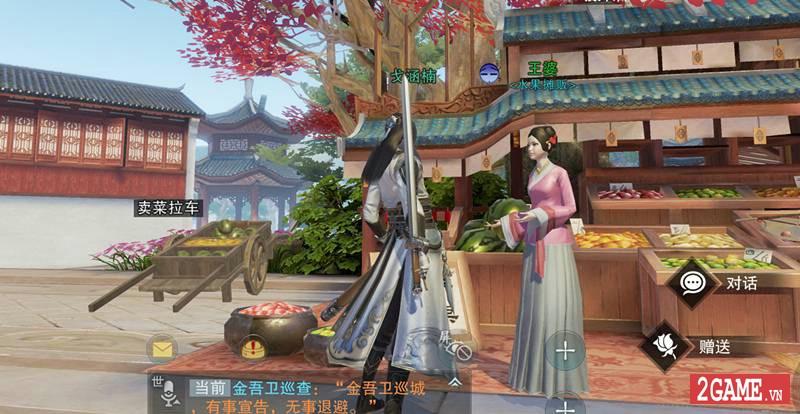 Trải nghiệm Sở Lưu Hương Mobile: Siêu phẩm game nhập vai cho phép người chơi sống thật nhất có thể 13
