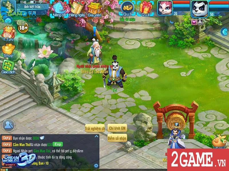 """Được NPH Gamota """"đỡ đầu"""", Dream World 3D chính thức gia nhập làng game Việt 4"""