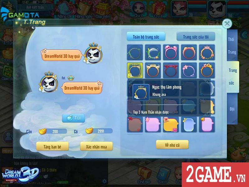 """Được NPH Gamota """"đỡ đầu"""", Dream World 3D chính thức gia nhập làng game Việt 5"""