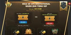 VTC Game mở bán vé hạng A tham dự CFSI Việt Nam 2017