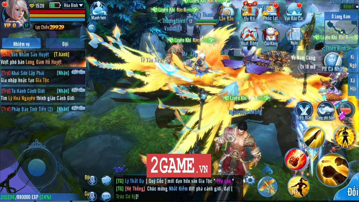 Game thủ khen hệ thống PK của Phàm Nhân Tu Tiên VNG rất đáng chơi 0