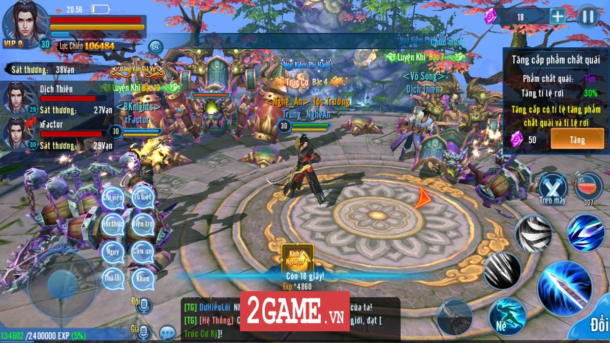 Game thủ khen hệ thống PK của Phàm Nhân Tu Tiên VNG rất đáng chơi 3