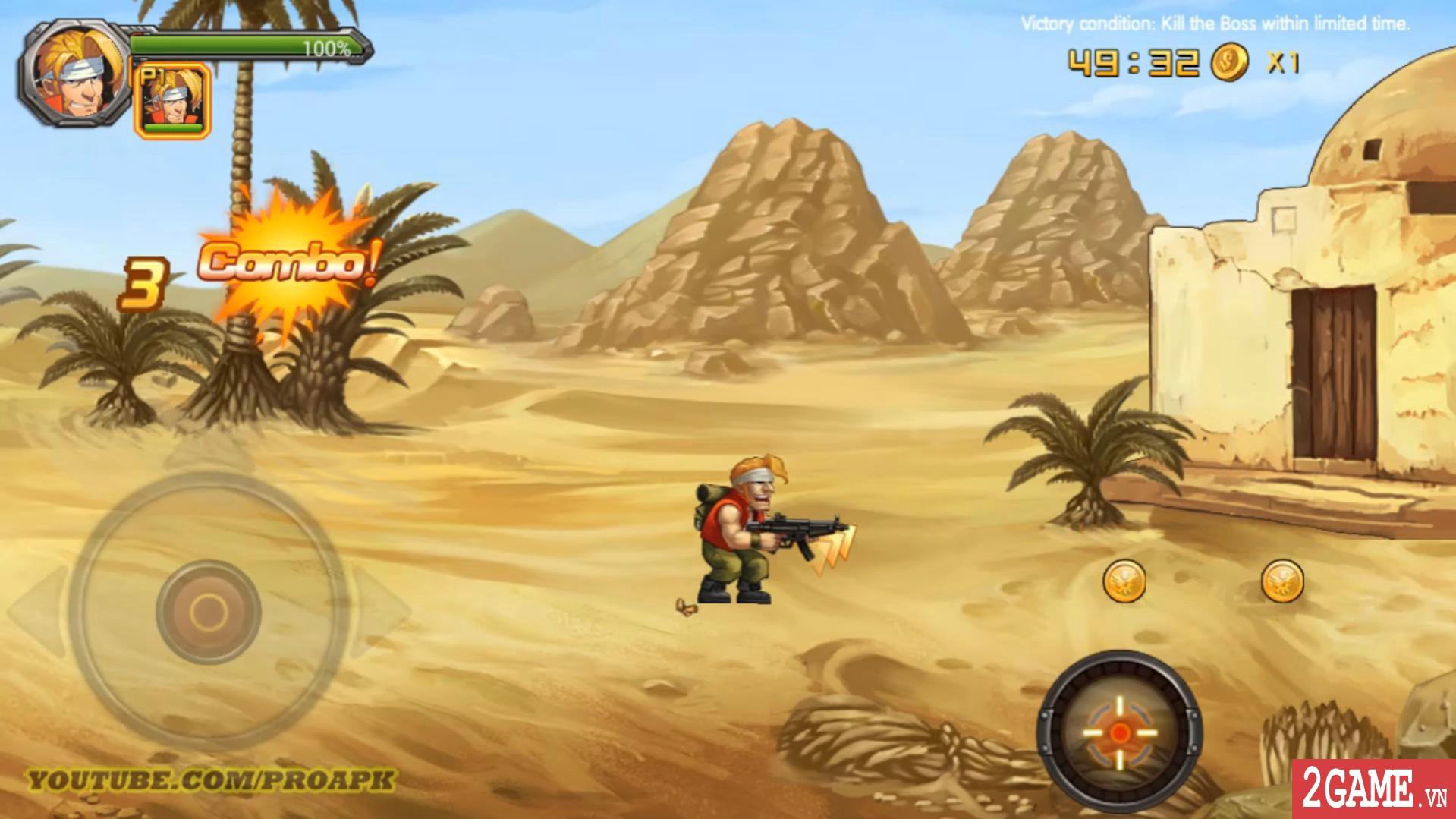 Metal Slug XX Online - Game nhập vai đi cảnh vừa quen vừa lạ 1