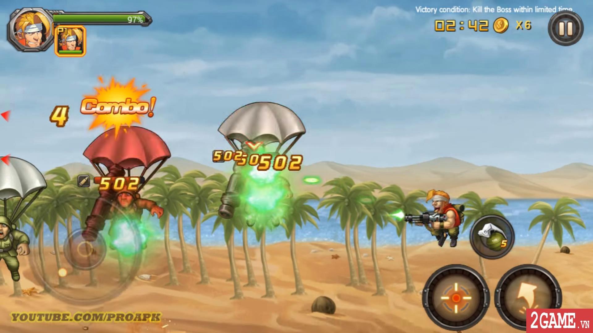 Metal Slug XX Online - Game nhập vai đi cảnh vừa quen vừa lạ 3