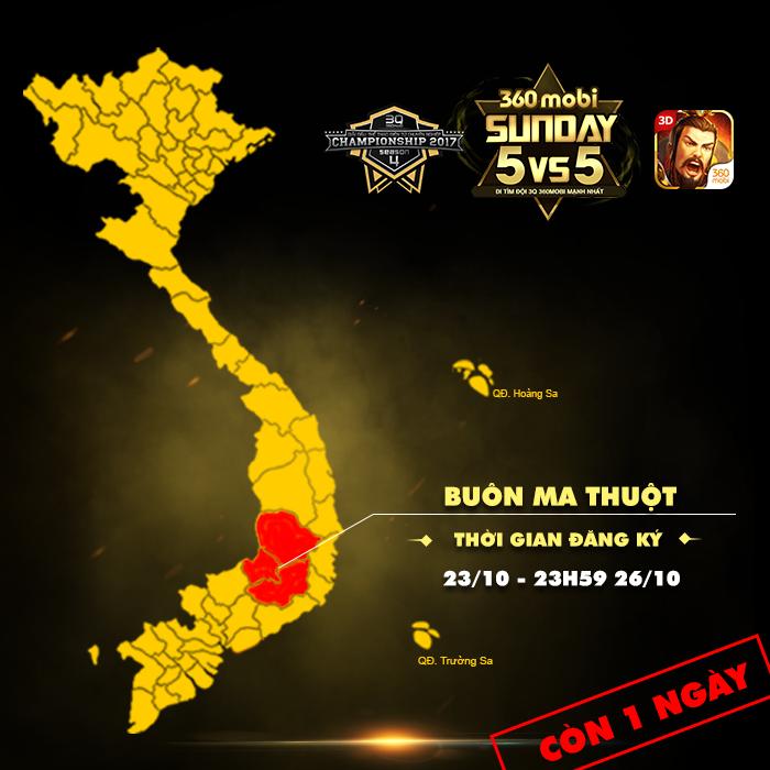 Giải đấu 360mobi Sunday trở nên gây cấn hơn khi thi đấu 5vs5 2