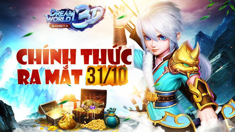 Còn 90 tiếng đồng hồ hồi hộp nữa trước khi Dream World 3D chính thức Open Beta tại Việt Nam 2