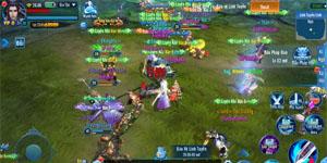 Phàm Nhân Tu Tiên VNG khuyến khích người chơi cộng tác với nhau để săn đồ xịn