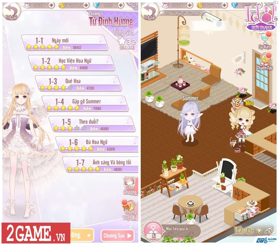 Idol Thời Trang Mobile tự tin thoát mác game phối đồ thời trang đơn thuần hiện nay 2