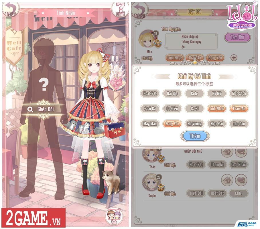Idol Thời Trang Mobile tự tin thoát mác game phối đồ thời trang đơn thuần hiện nay 1