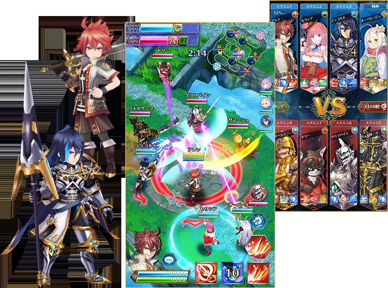 Battle of Blade – Game MOBA theo phong cách mới toanh tới từ Nhật Bản 2