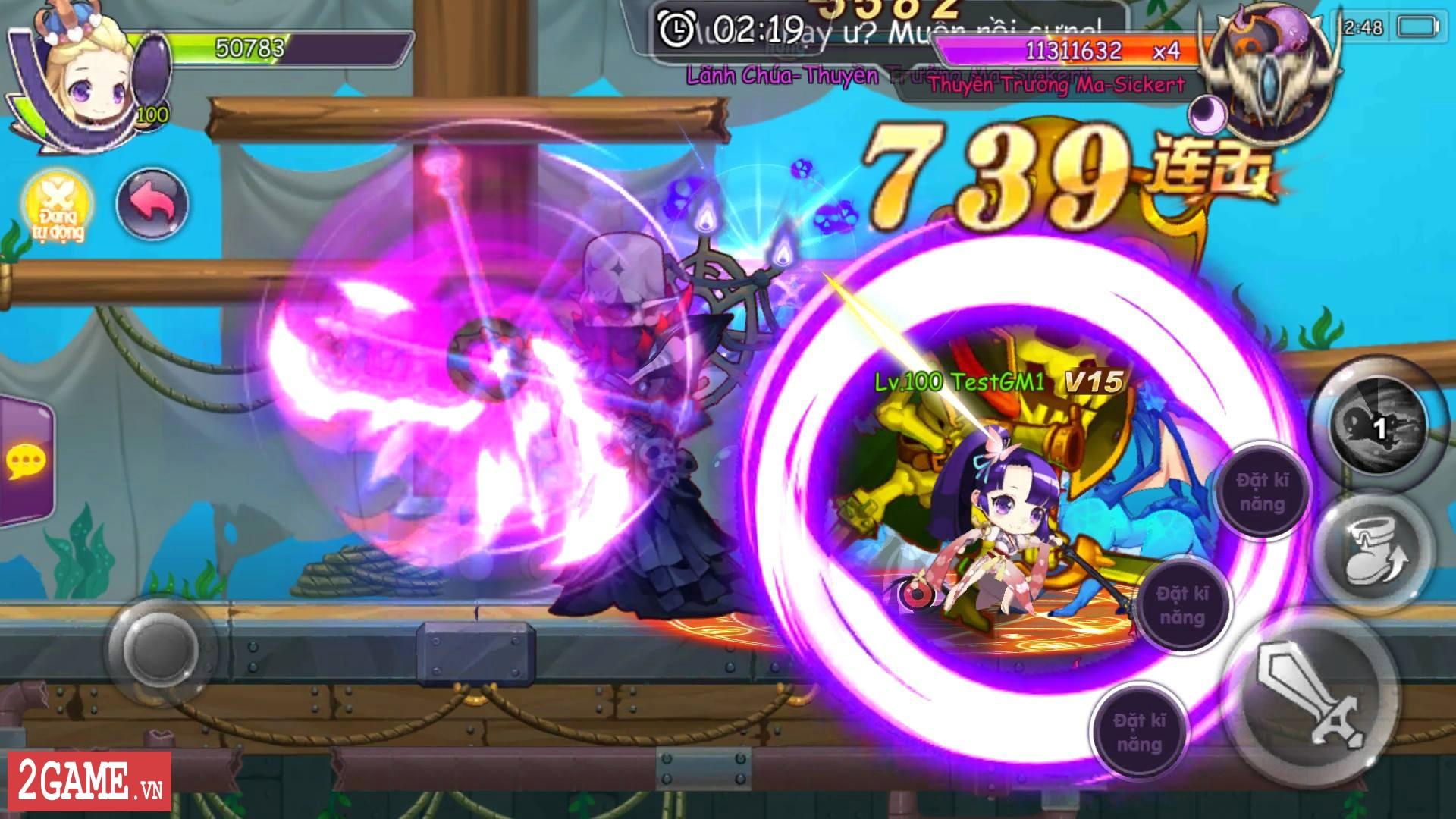Cảm nhận Sứ Mệnh Rồng Mobile: Game nhập vai hành động đáng yêu vô cùng 7