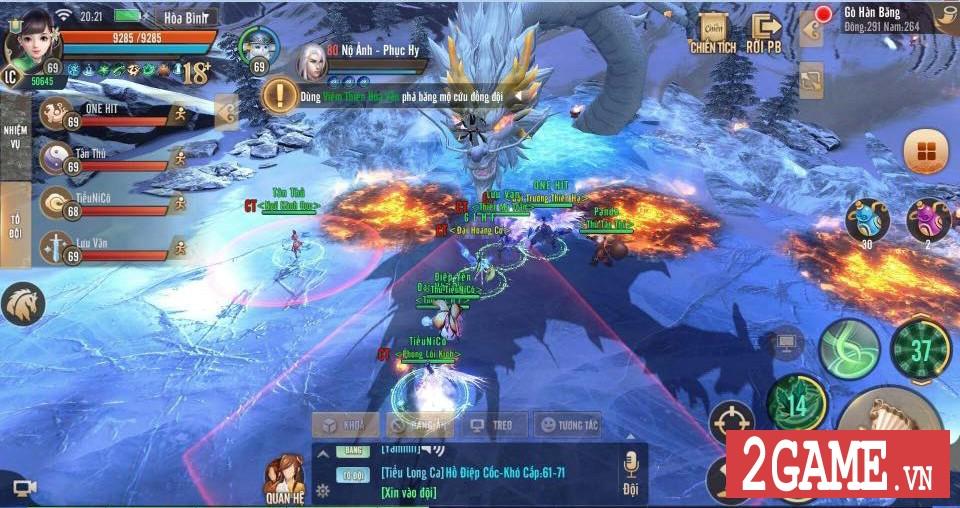 Thiên Hạ 3D cho phép người chơi tự tay chế tạo ra thần binh khủng cho nhân vật 8