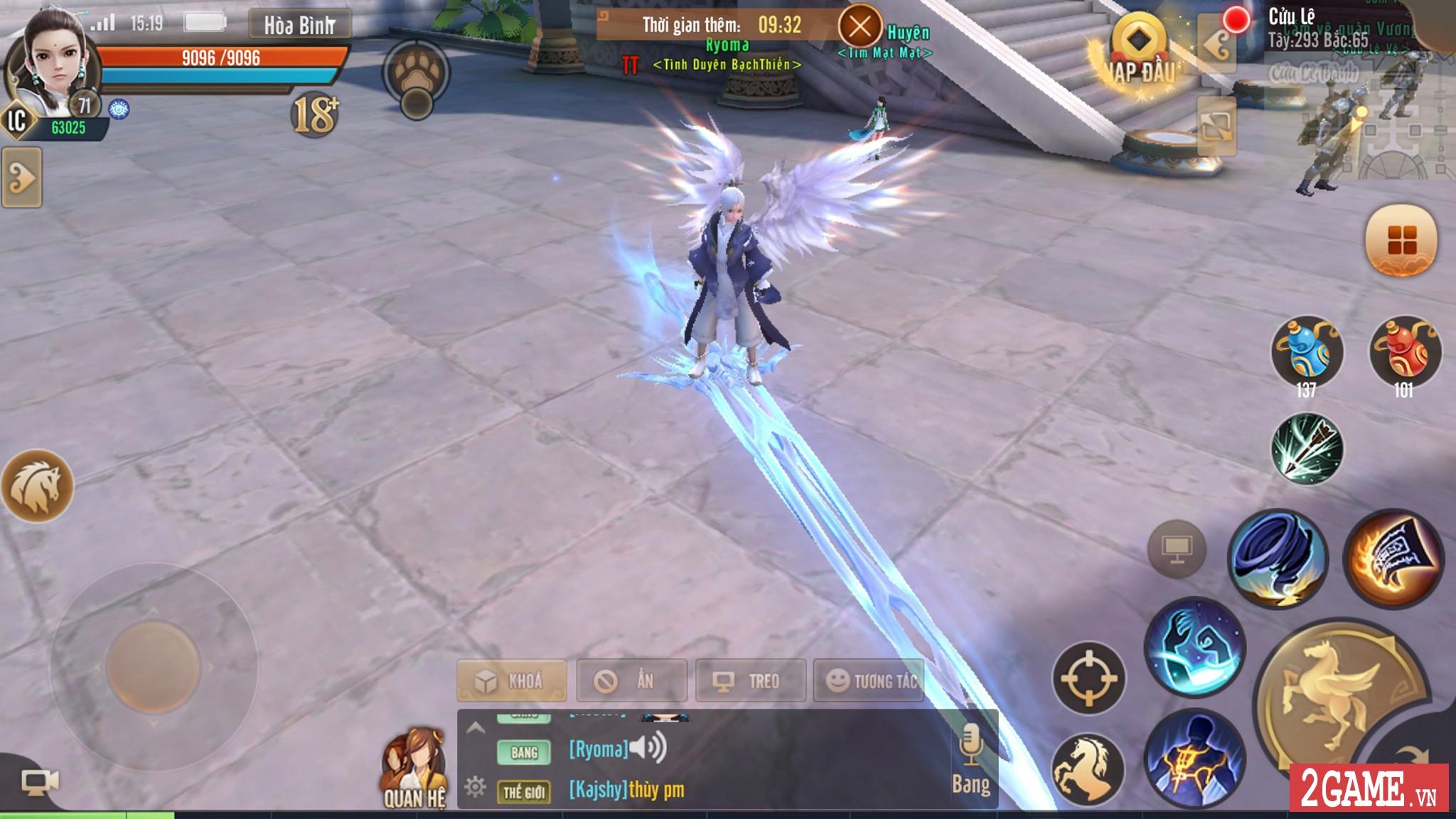 Thiên Hạ 3D cho phép người chơi tự tay chế tạo ra thần binh khủng cho nhân vật 5