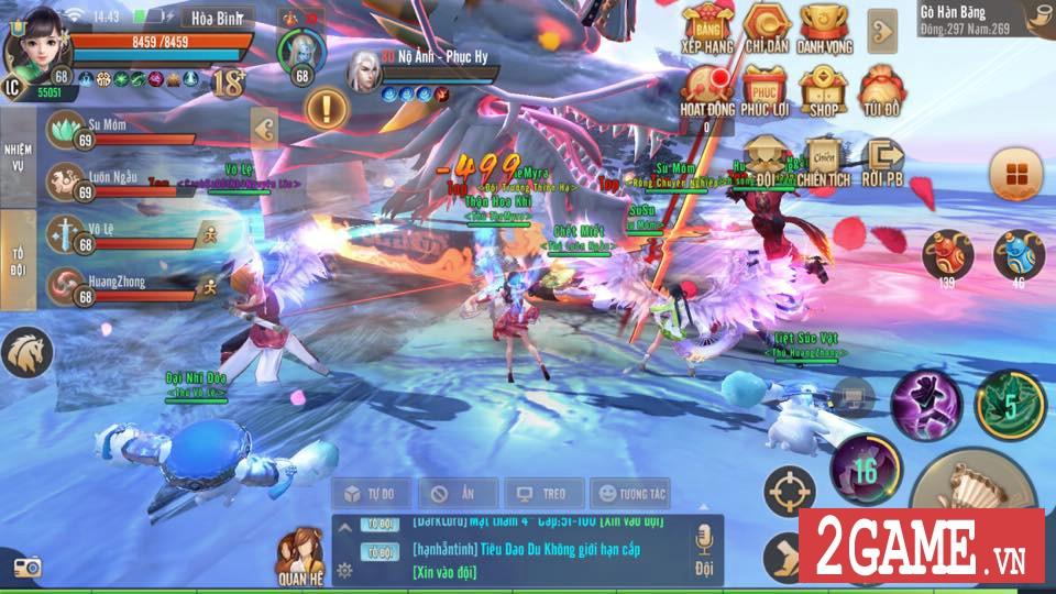 Thiên Hạ 3D cho phép người chơi tự tay chế tạo ra thần binh khủng cho nhân vật 7