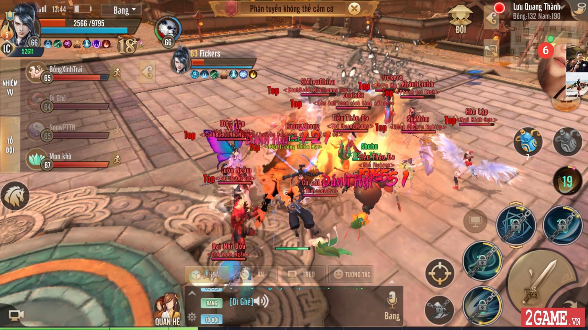 Thiên Hạ 3D cho phép người chơi tự tay chế tạo ra thần binh khủng cho nhân vật 9