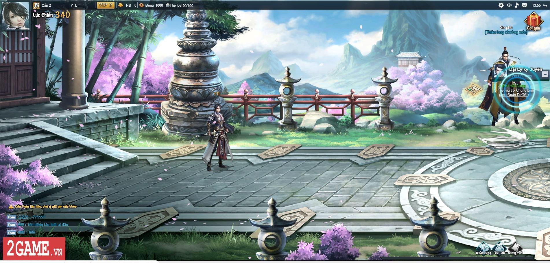 Webgame Lục Mạch Thần Kiếm tiến hành Alpha Test chớp nhoáng để kiểm tra lỗi 3