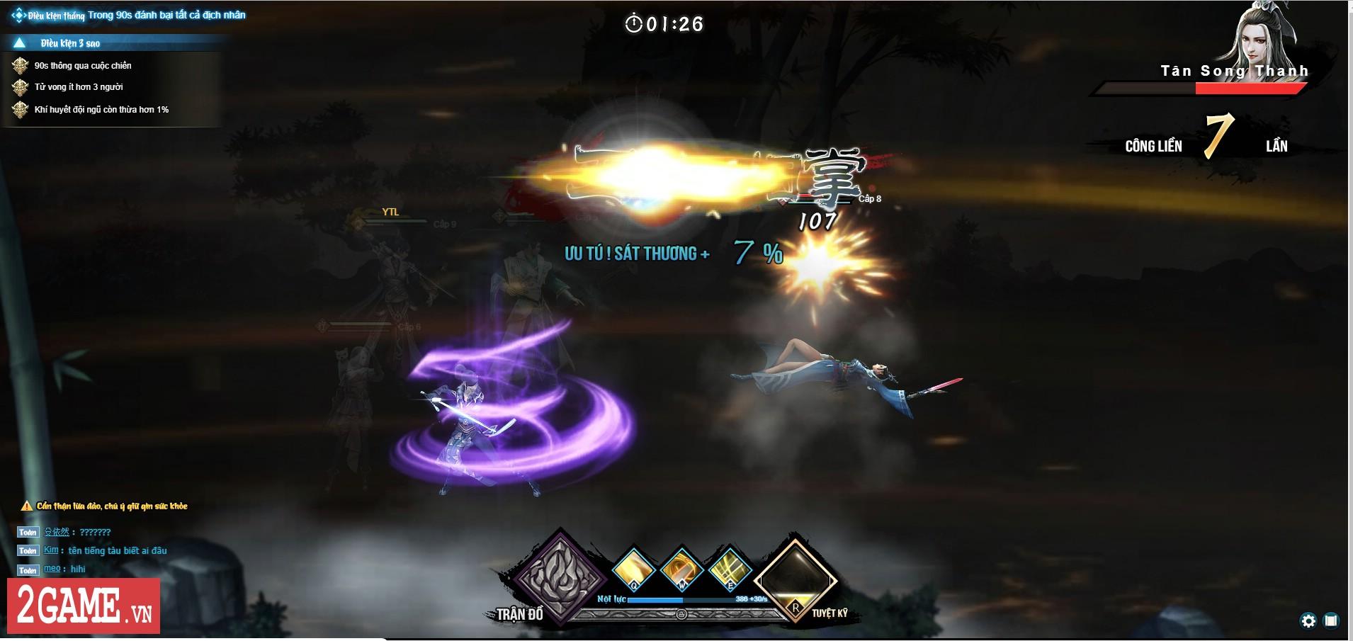 Webgame Lục Mạch Thần Kiếm tiến hành Alpha Test chớp nhoáng để kiểm tra lỗi 5