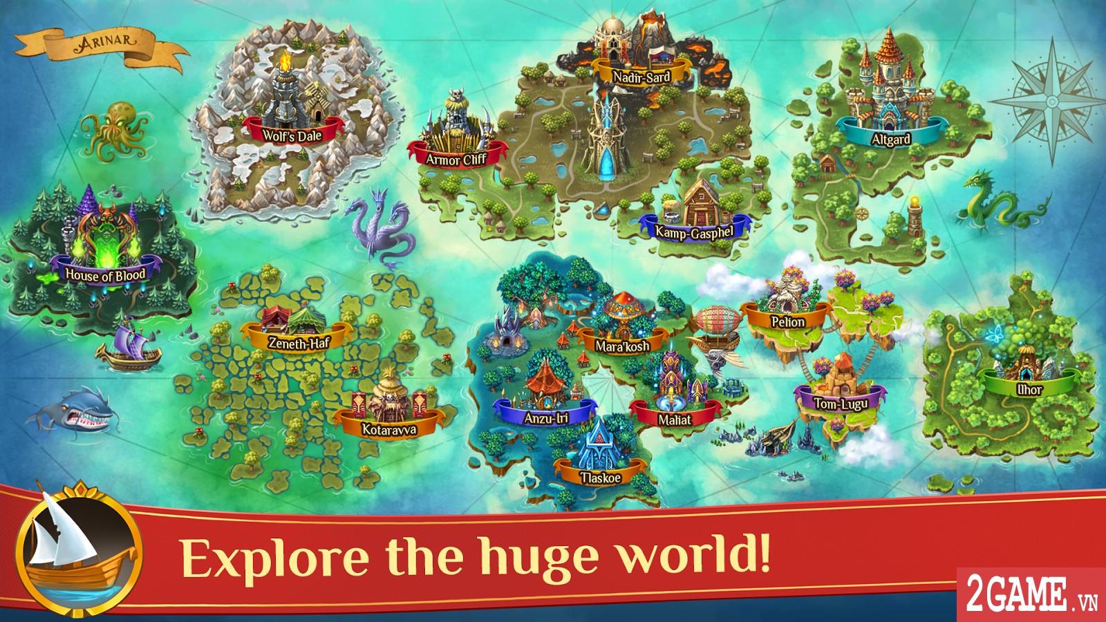 Warspear Online - Game nhập vai thế giới mở vô cùng rộng lớn 4