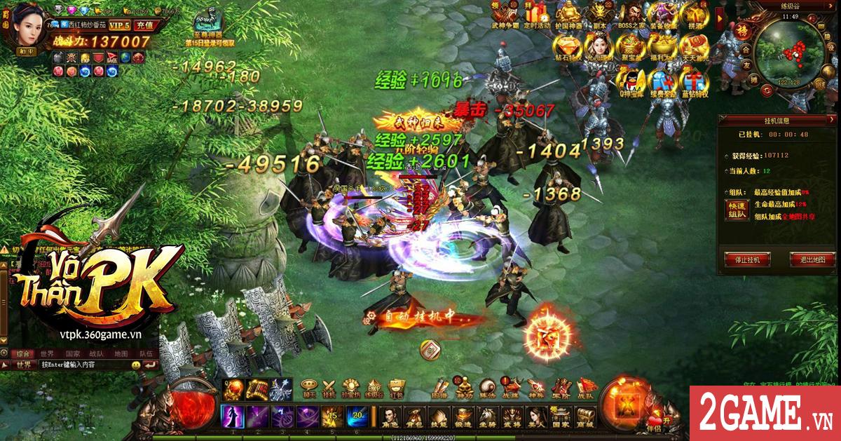 Võ Thần PK - Webgame nhập vai chủ đề Tam Quốc cập bến Việt Nam 2