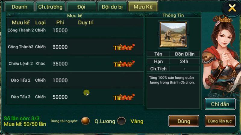 Nhận ngay quà hot cùng Ngoạ Long Mobile nhân dịp phiên bản mới Chư Hầu Tranh Bá ra mắt 3