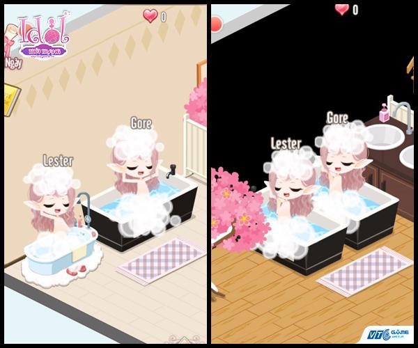Cận cảnh hệ thống gia viên sống động của game Idol Thời Trang Mobile 0