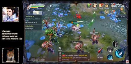 Cùng 2Game dạo chơi trong game Đại Đường Võ Lâm VNG bản Việt hóa