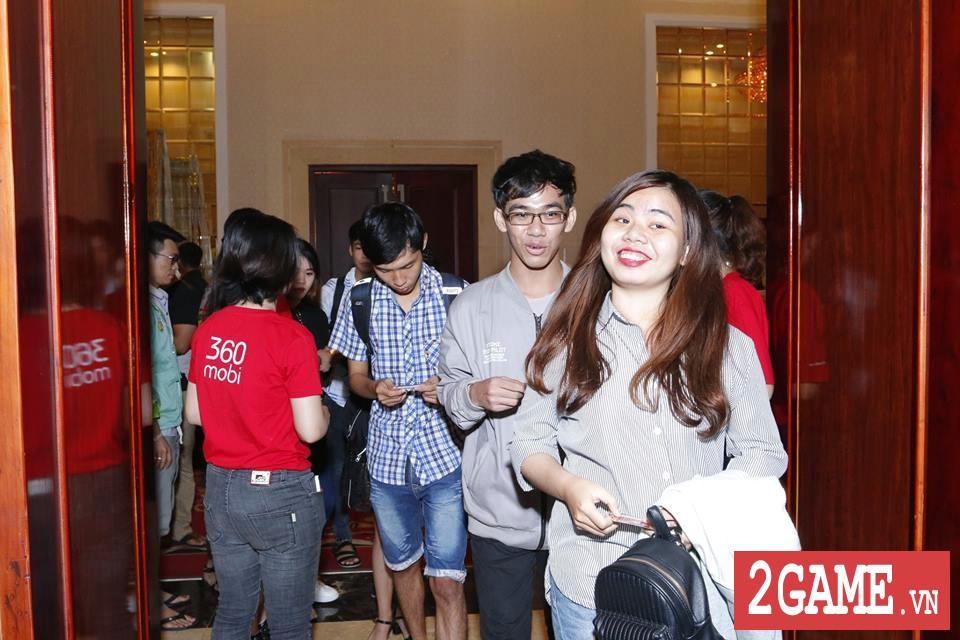 Rất đông game thủ 3Q 360mobi Sài Thành đến dự offline dù trời mưa bão 6